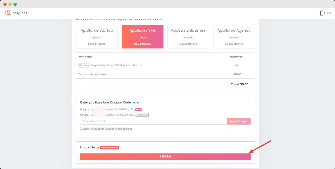 AppSumo Easy.Jobs