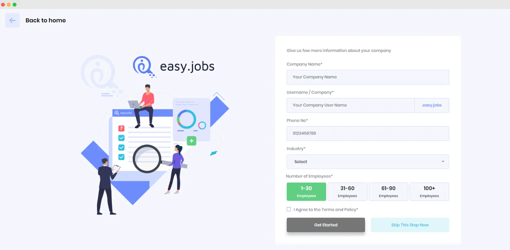 easy.jobs prijzen
