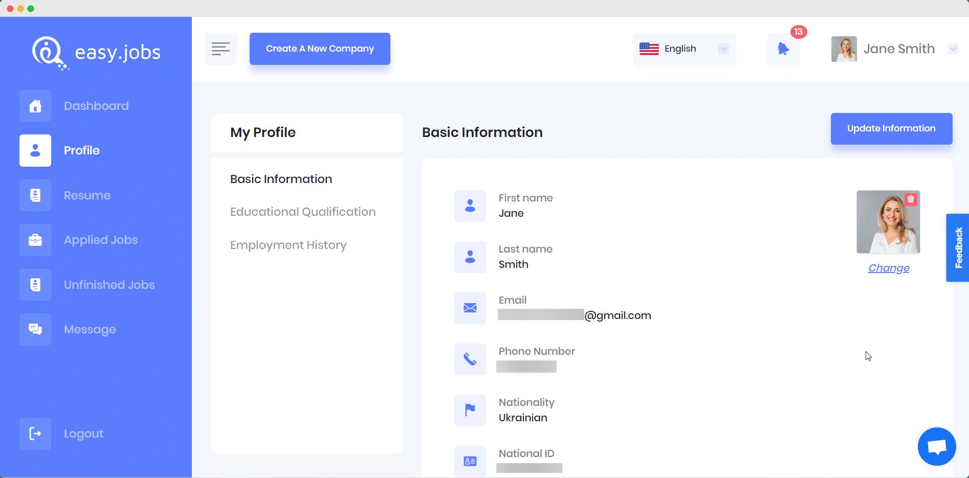 Easy.Jobsを使用して5分で見事なキャリアサイトを作成[無料] 1