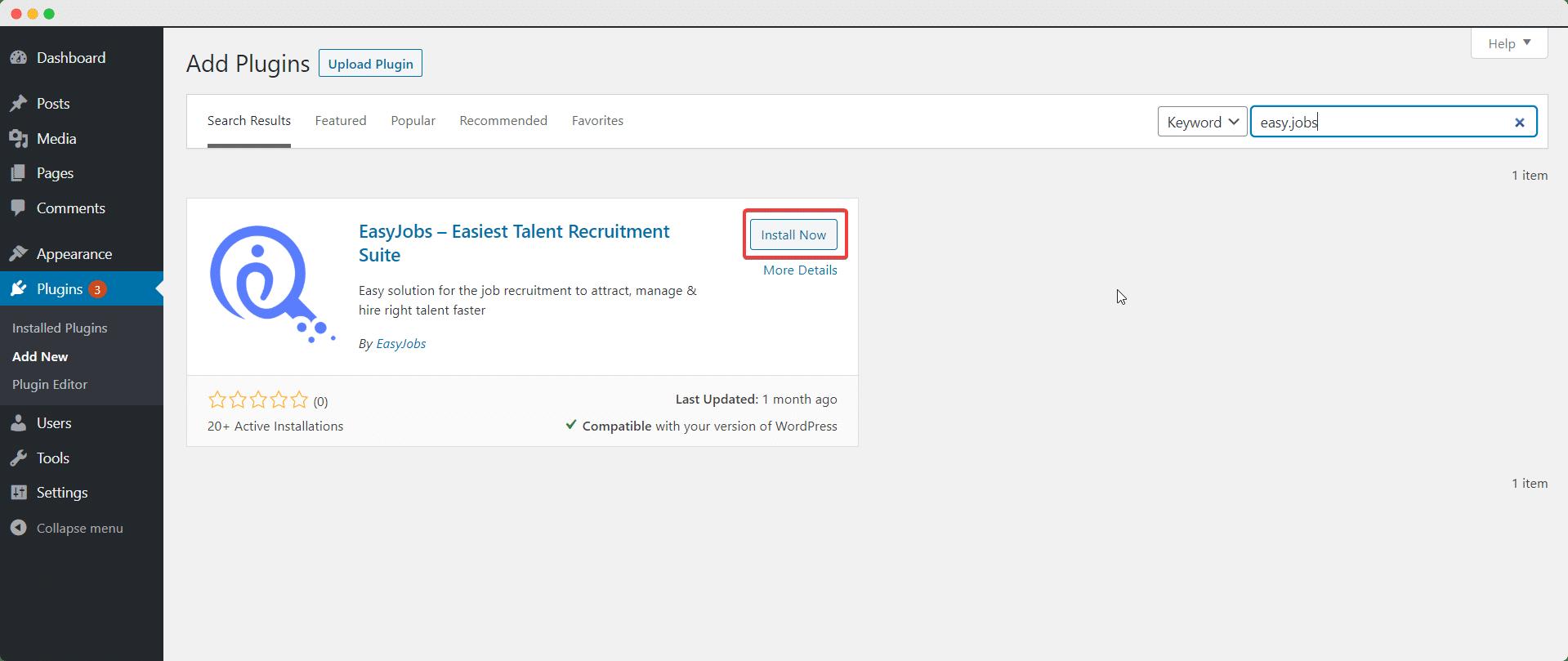 Easy.Jobsを使用して5分で見事なキャリアサイトを作成[無料] 4