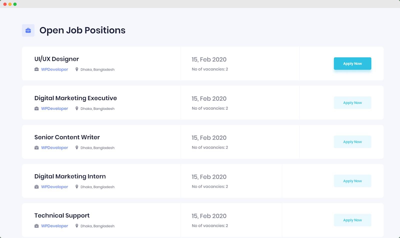 Easy.Jobsを使用して5分で見事なキャリアサイトを作成[無料] 12