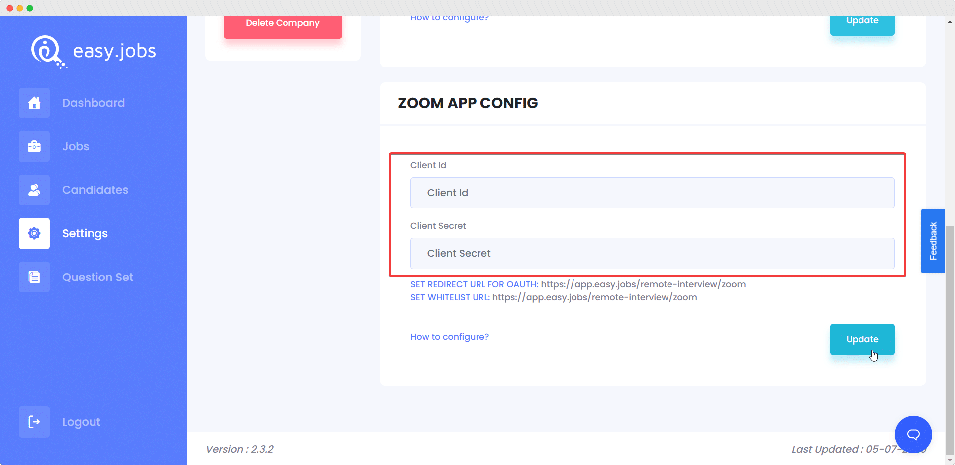 Zoom App Easy.Jobs