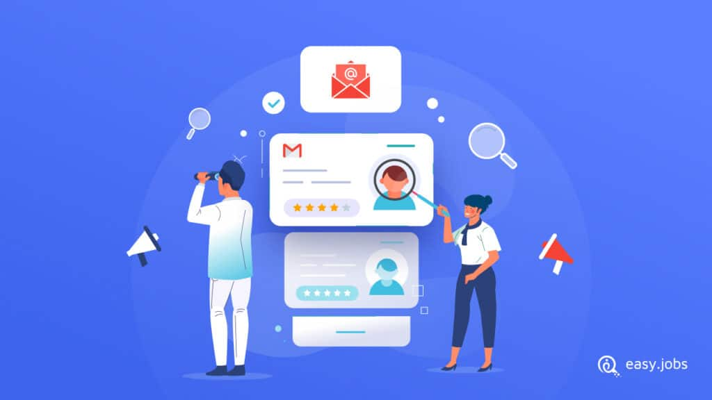 Hire Through Email